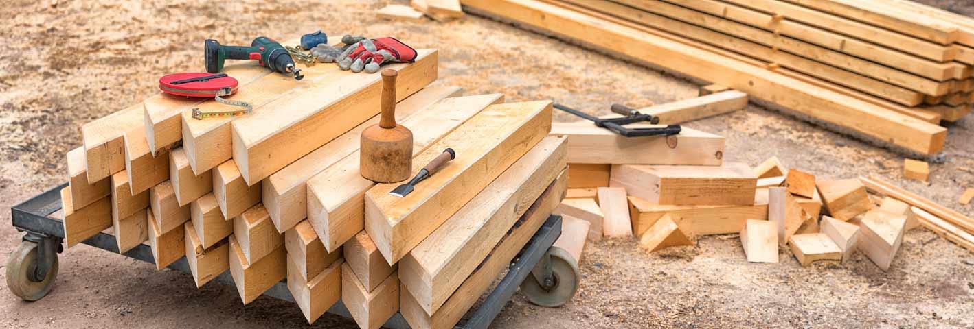 Edelstahlschrauben im Holzbau