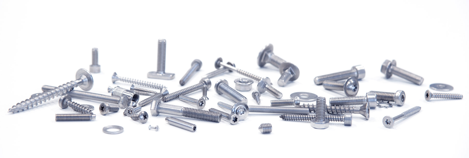 Possible applications of A2 AISI 304 stainless steel screws