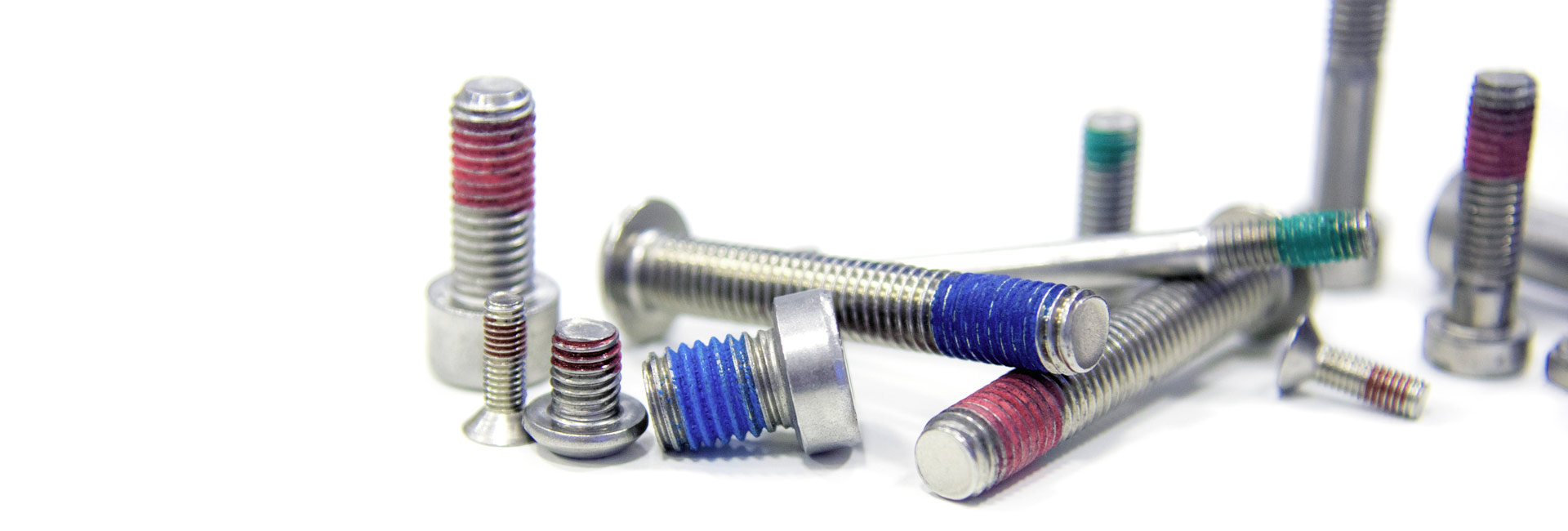 Thread locking for fasteners made of stainless steel