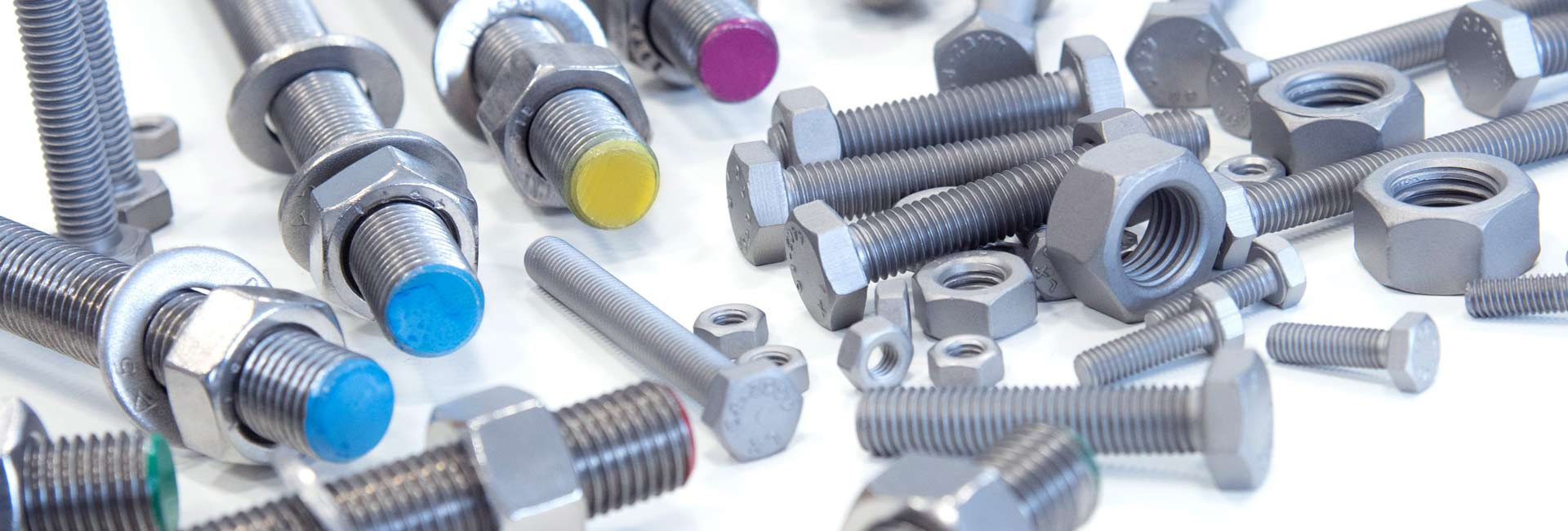 Special materials for fasteners of rust and acid resistant stainless steel