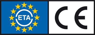 Kennzeichnung ETA und CE für Schrauben