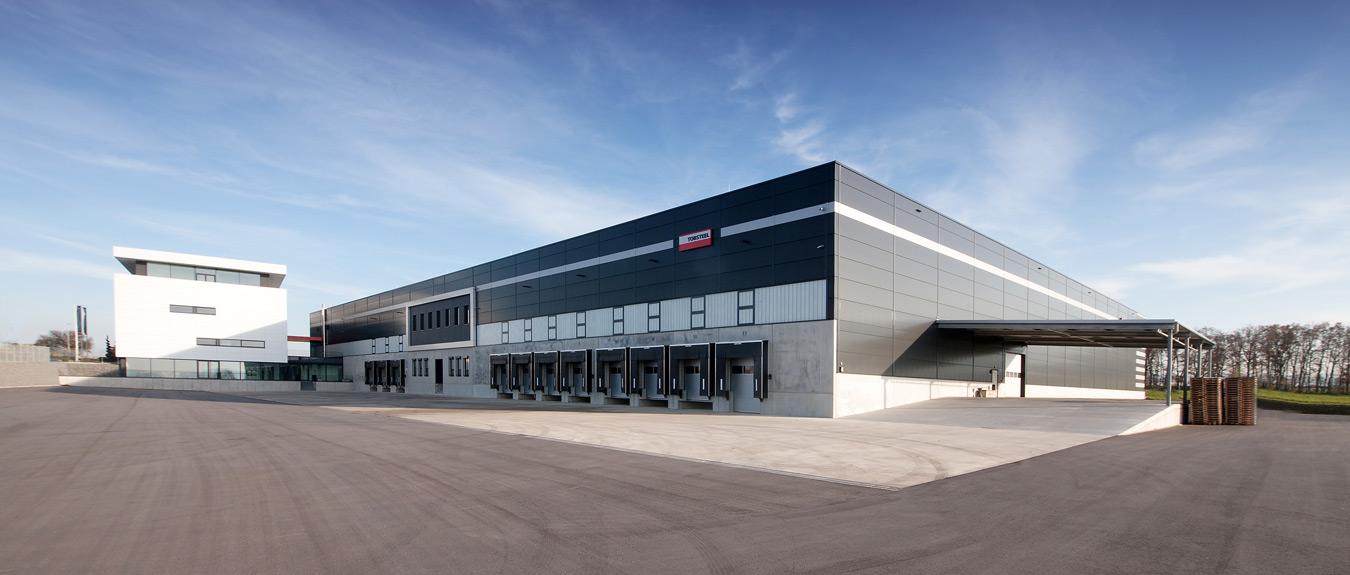TOBSTEEL GmbH company building in Öhringen