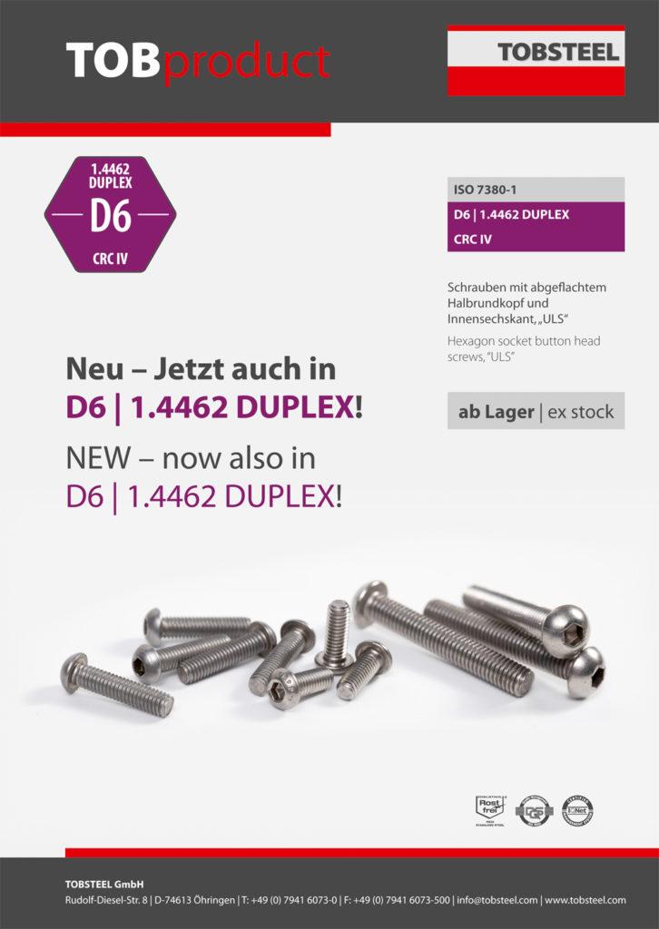 Produktinformation TOBproduct ISO 7380-1