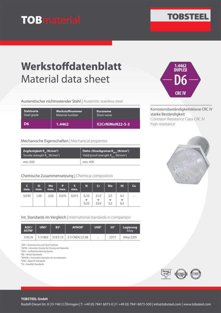 TOBSTEEL-Werkstoffdatenblatt-D6-1.4462-DUPLEX