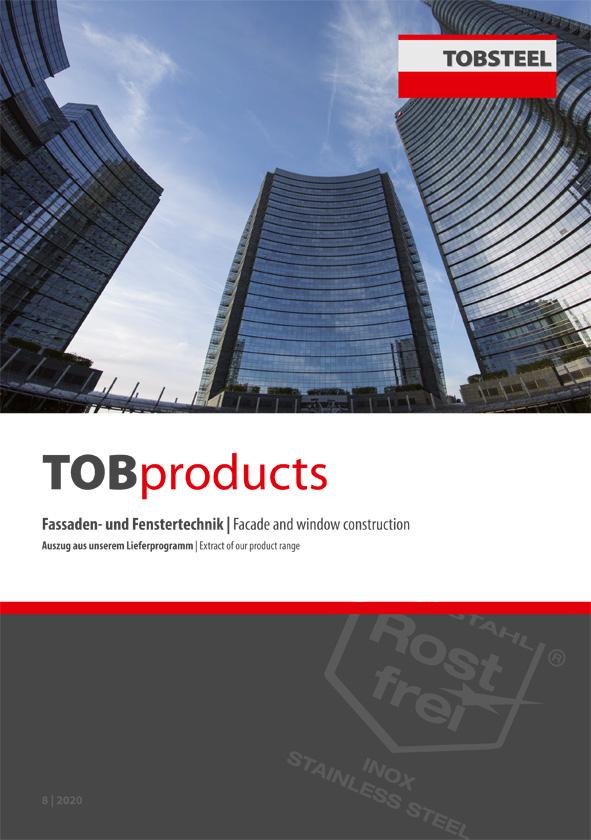 Auszug aus unserem Lieferprogramm im Bereich Fassaden- und Fenstertechnik