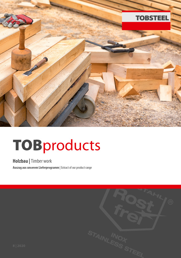 Auszug aus unserem Lieferprogramm im Bereich Holzbau