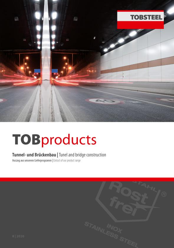 Auszug aus unserem Lieferprogramm im Bereich Tunnel- und Brückenbau