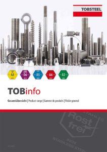 TOBSTEEL FAST-Drill Holzbauschrauben ART.4090